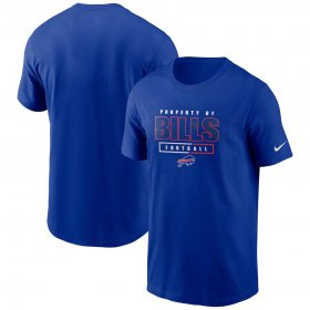 Wholesale Cheap Buffalo Bills Nike Team Property Of Essential T-Shirt Royal