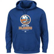 Wholesale Cheap New York Islanders Majestic Critical Victory VIII Fleece Hoodie Royal Blue