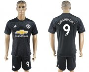 Wholesale Cheap Manchester United #9 Ibrahimovic Away Soccer Club Jersey