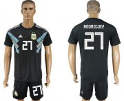 Wholesale Cheap Argentina #27 Rodriguez Away Soccer Country Jersey