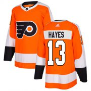 Wholesale Cheap Adidas Flyers #13 Kevin Hayes Orange Home Authentic Stitched Youth NHL Jersey