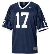 Wholesale Cheap Penn State Nittany Lions #17 Navy Blue Jersey