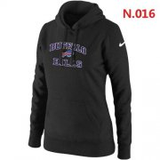 Wholesale Cheap Women's Nike Buffalo Bills Heart & Soul Pullover Hoodie Black