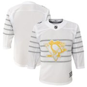 Wholesale Cheap Youth Pittsburgh Penguins White 2020 NHL All-Star Game Premier Jersey