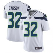 Wholesale Cheap Nike Seahawks #32 Chris Carson White Men's Stitched NFL Vapor Untouchable Limited Jersey