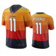Wholesale Cheap Arizona Cardinals #11 Larry Fitzgerald Sunset Orange Vapor Limited City Edition NFL Jersey