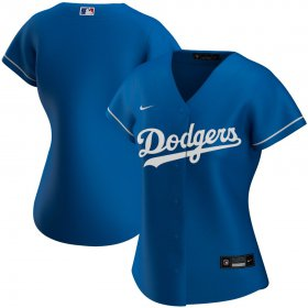 Wholesale Cheap Los Angeles Dodgers Nike Women\'s Alternate 2020 MLB Team Jersey Royal