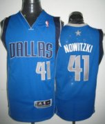 Wholesale Cheap Dallas Mavericks #41 Dirk Nowitzki Light Blue Jersey