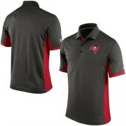 Wholesale Cheap Men's Nike NFL Tampa Bay Buccaneers Pewter Team Issue Performance Polo