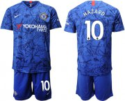 Wholesale Cheap Chelsea #10 Hazard Home Soccer Club Jersey