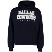 Wholesale Cheap Dallas Cowboys Practice Pullover Hoodie Navy