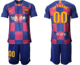 Wholesale Cheap Barcelona Personalized 20th Anniversary Edition Home Soccer Club Jersey