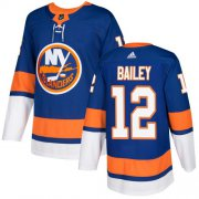 Wholesale Cheap Adidas Islanders #12 Josh Bailey Royal Blue Home Authentic Stitched NHL Jersey