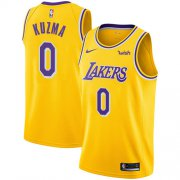 Cheap Lakers #0 Kyle Kuzma Gold Youth Basketball Swingman Icon Edition Jersey
