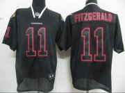 Wholesale Cheap Cardinals #11 Larry Fitzgerald Lights Out Black Stitched NFL Jersey