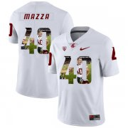 Wholesale Cheap Washington State Cougars 40 Blake Mazza White Fashion College Football Jersey