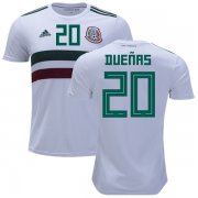 Wholesale Cheap Mexico #20 Duenas Away Soccer Country Jersey