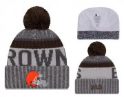 Wholesale Cheap NFL Cleverland Browns Logo Stitched Knit Beanies 011