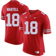 Wholesale Cheap Ohio State Buckeyes 18 Tate Martell Red College Football Jersey