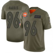 Wholesale Cheap Nike Broncos #96 Shelby Harris Camo Youth Stitched NFL Limited 2019 Salute To Service Jersey