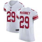 Wholesale Cheap Nike Giants #29 Xavier McKinney White Men's Stitched NFL New Elite Jersey
