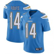 Wholesale Cheap Nike Chargers #14 Dan Fouts Electric Blue Alternate Youth Stitched NFL Vapor Untouchable Limited Jersey