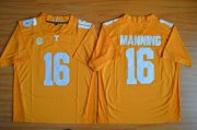 Wholesale Cheap Men's Tennessee Volunteers #16 Peyton Manning Orange 2015 College Football Jersey