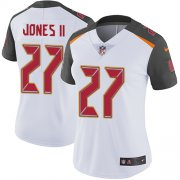 Wholesale Cheap Nike Buccaneers #27 Ronald Jones II White Women's Stitched NFL Vapor Untouchable Limited Jersey