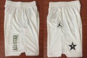 Wholesale Cheap NBA White Jordan Swingman 2018 All Star Shorts
