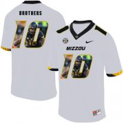 Wholesale Cheap Missouri Tigers 10 Kentrell Brothers White Nike Fashion College Football Jersey