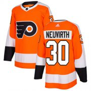 Wholesale Cheap Adidas Flyers #30 Michal Neuvirth Orange Home Authentic Stitched NHL Jersey