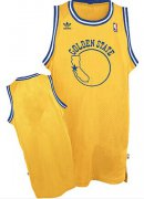 Wholesale Cheap Golden State Warriors Blank Yellow Throwback Swingman Jersey