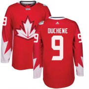 Wholesale Cheap Team CA. #9 Matt Duchene Red 2016 World Cup Stitched NHL Jersey