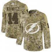 Wholesale Cheap Adidas Lightning #14 Chris Kunitz Camo Authentic Stitched NHL Jersey