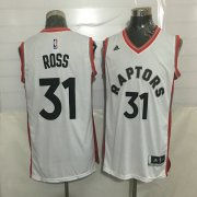 Wholesale Cheap Men's Toronto Raptors #31 Terrence Ross White New NBA Rev 30 Swingman Jersey