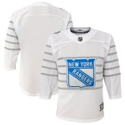Wholesale Cheap Youth New York Rangers White 2020 NHL All-Star Game Premier Jersey