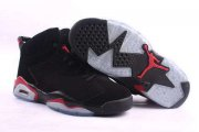 Wholesale Cheap Air Jordan 6 Retro Shoes Black/Red