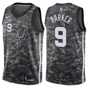 Wholesale Cheap Nike San Antonio Spurs #9 Tony Parker Camo NBA Swingman City Edition Jersey