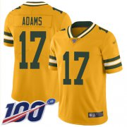 Wholesale Cheap Nike Packers #17 Davante Adams Gold Men's Stitched NFL Limited Inverted Legend 100th Season Jersey