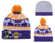 Wholesale Cheap Los Angeles Lakers Beanies YD002