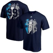 Wholesale Cheap New York Yankees #99 Aaron Judge Majestic Big & Tall 2019 Spring Training Name & Number T-Shirt Navy