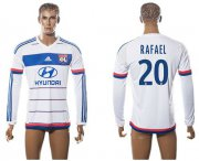 Wholesale Cheap Lyon #20 Rafael Home Long Sleeves Soccer Club Jersey