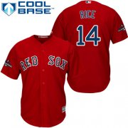 Wholesale Cheap Red Sox #14 Jim Rice Red Cool Base 2018 World Series Stitched Youth MLB Jersey