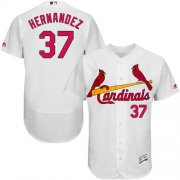 Wholesale Cheap Cardinals #37 Keith Hernandez White Flexbase Authentic Collection Stitched MLB Jersey