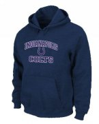 Wholesale Cheap Indianapolis Colts Heart & Soul Pullover Hoodie Dark Blue