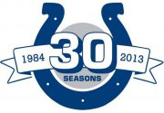 Wholesale Cheap Stitched Indianapolis Colts 30th Anniversary Jersey Patch