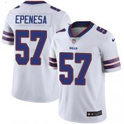 Wholesale Cheap Nike Bills #57 A.J. Epenesas White Men's Stitched NFL Vapor Untouchable Limited Jersey