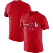 Wholesale Cheap St. Louis Cardinals Nike MLB Practice T-Shirt Red