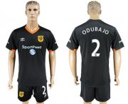 Wholesale Cheap Hull City #2 Odubajo Away Soccer Club Jersey