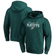 Wholesale Cheap Philadelphia Eagles 2019 NFL Playoffs Bound Chip Shot Pullover Hoodie Midnight Green